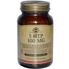 5-гидрокситриптофан, 100 мг, 90 капсул от Solgar