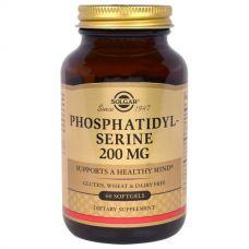 Фосфатидилсерин, 200 мг, 60 мягких капсул