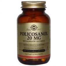 Поликосанол, 20 мг, 100 капсул
