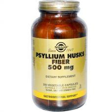 Клетчатка кожицы подорожника, 500 мг, 200 капсул