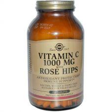 Витамин C-1000 с шиповником, 250 таблеток