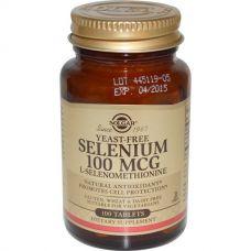 Селен без дрожжей (Selenium), 100 таблеток