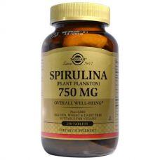Спирулина, 750 мг, 250 таблеток