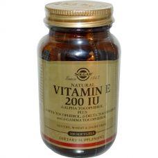Витамин Е, 200МЕ, 100 капсул