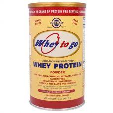 Протеин Whey To Go, с шоколадным вкусом, 454 г порошка