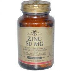 Цинк, 50 мг, 100 таблеток