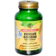 Экстракт корня корейского женьшеня, 60 капсул