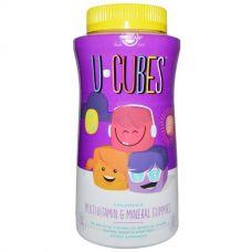 Витамины для детей U-Cubes, 120 жевательных конфет