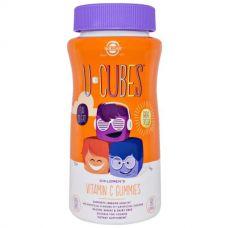 Детский витамин С U-Cubes, 90 конфет