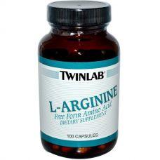 L-аргинин, 100 капсул