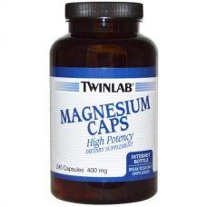 Магний, 400 мг, 240 капсул